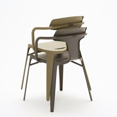 Steel Chair Specification Custom Upholstered Dining Chairs T14 Stainless By Tolix Design