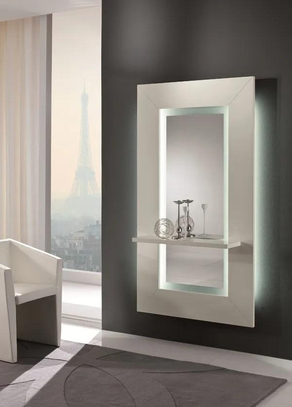 Specchio a parete con cornice SIBILLA by RIFLESSI design