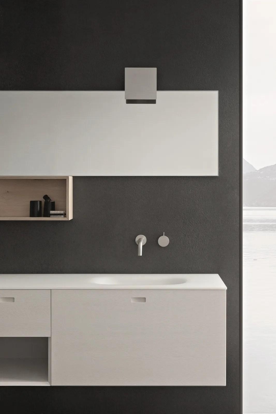 Arredo bagno completo CRAFT  COMPOSIZIONE N04 by NOVELLO design Stefano Cavazzana