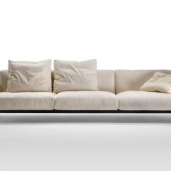 Soft Sofa Material Stadium Leather Chaise Corner Dream Fabric By Flexform Design Antonio Citterio