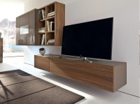 NEO Wall-mounted TV cabinet by Hlsta-Werke Hls