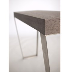 Stella Sofa Table Cheap Contemporary Beds Uk Rectangular Wood Veneer Console By Azea