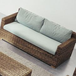 Removable Cover Sofa Armless Bed Single 2 Seater With Croco 06 By Gervasoni