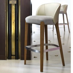 Kitchen Counter Stools With Backs Metal Base Cabinets Upholstered Stool Bellevue Collection By Very Wood ...