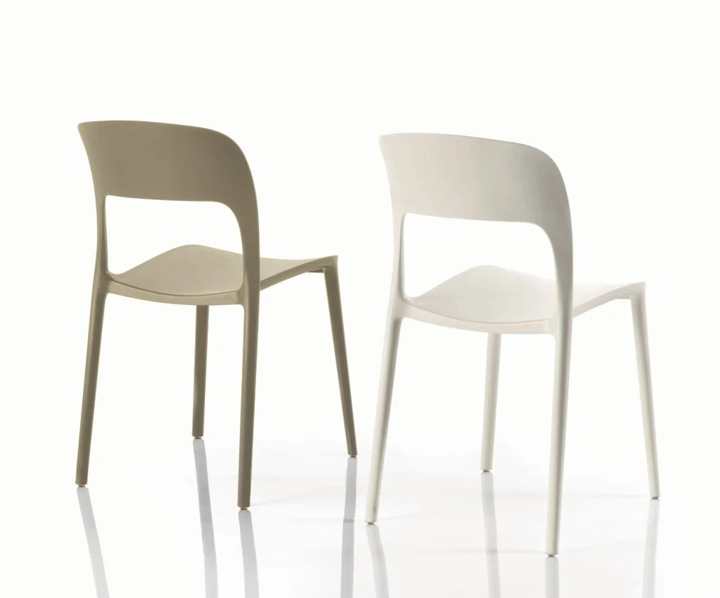 stackable outdoor plastic chairs foam for toronto gipsy chair by bontempi casa design archirivolto