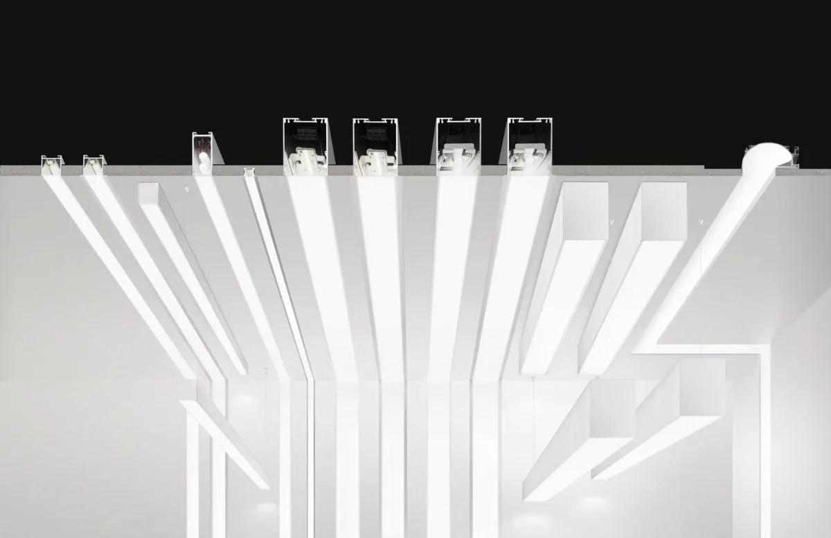 LED extruded aluminium pendant lamp NOLITA OUT By PANZERI