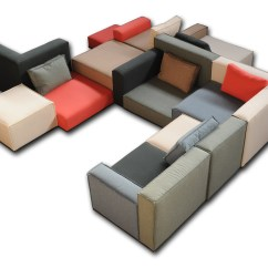 Sofa Box Microfiber Fabric Sofas Sectional Upholstered Programme By DÉsio