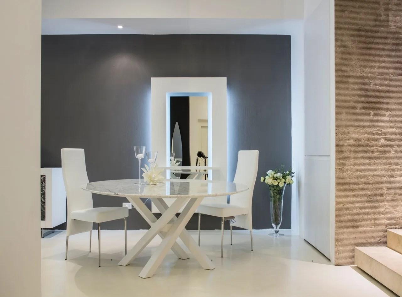 SHANGAI Tavolo in marmo by RIFLESSI design Riflessi