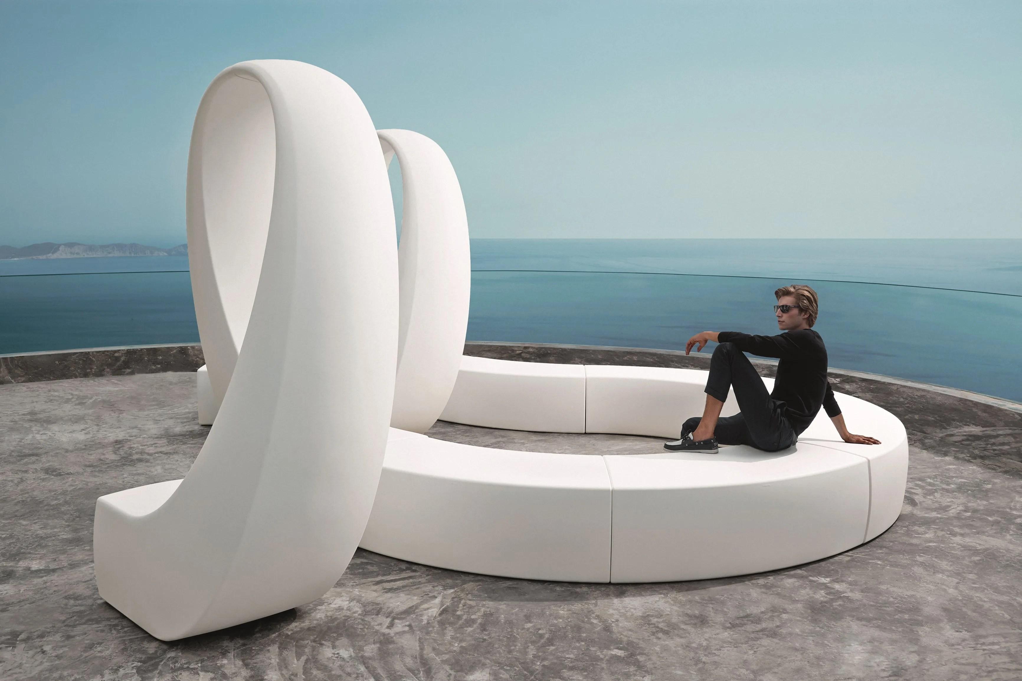 Banc De Jardin Composable AND By VONDOM Design Fabio Novembre