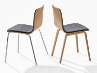 UPHOLSTERED STACKABLE CHAIR AAVA AAVA COLLECTION BY ARPER ...