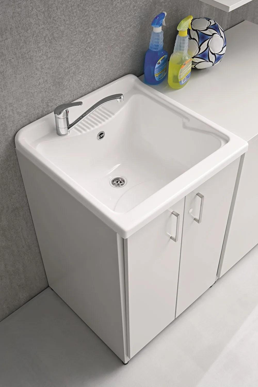 BRACCIO DI FERRO  Mobile lavanderia con lavatoio By Birex