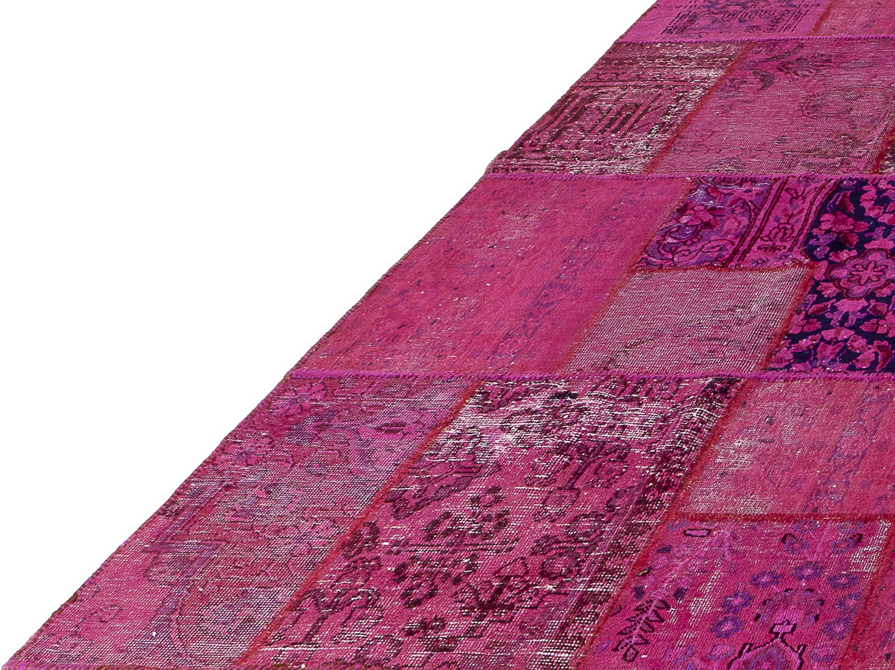 Teppich Novel Vintage Vintage Pink Carpet Patchwork By Ebru