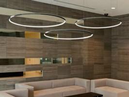 LED aluminium pendant lamp GIRATA HORIZONTAL By Sattler ...
