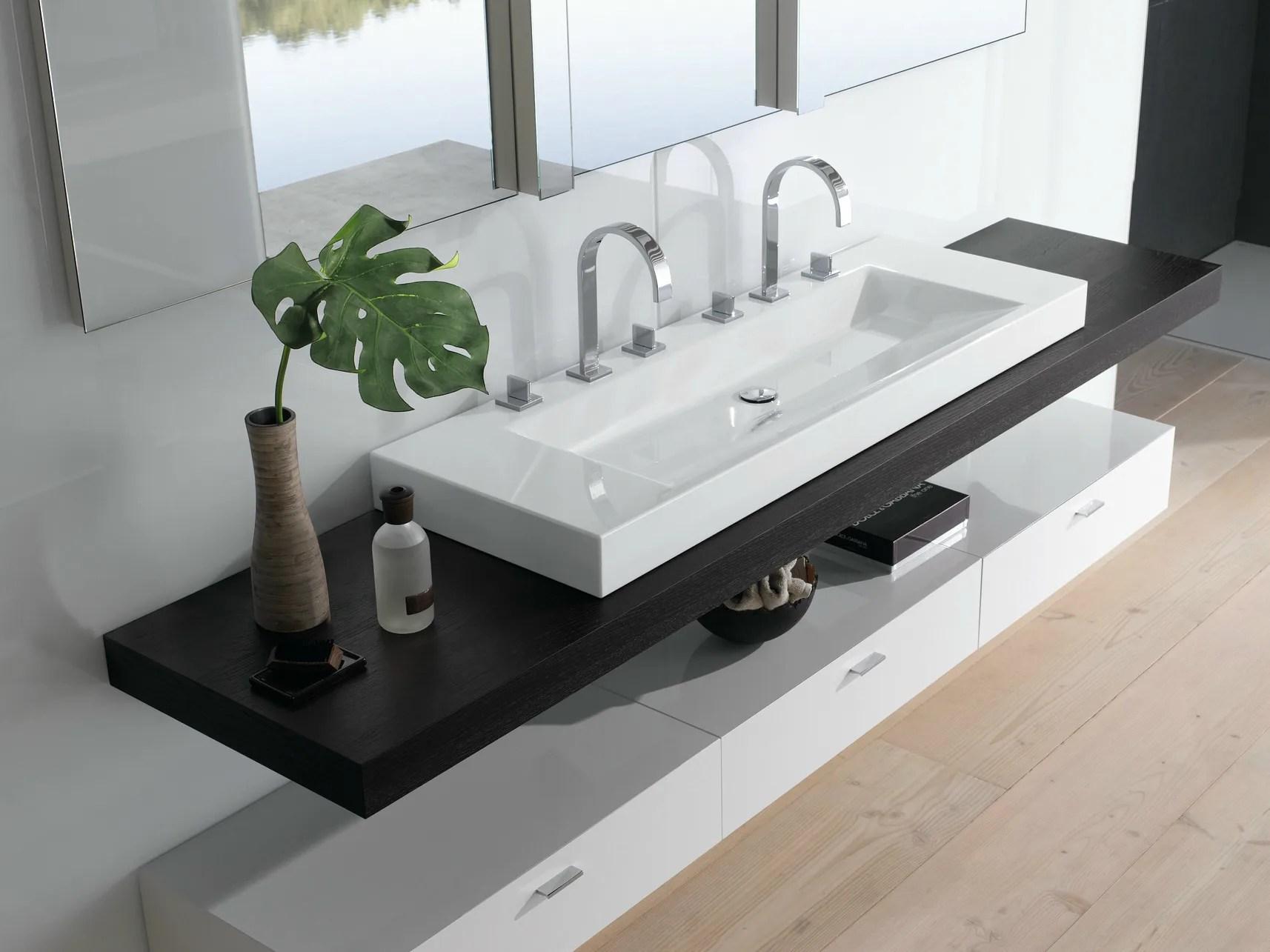 BETTEAQUA Lavabo double by Bette design Schmiddem Design