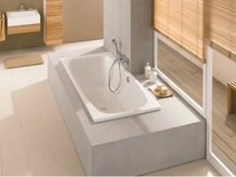 Einbau  Badewanne aus emailliertem Stahl BETTESTEEL DUO by ...