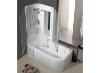 Whirlpool Badewanne mit Dusche DUO BOX by HAFRO