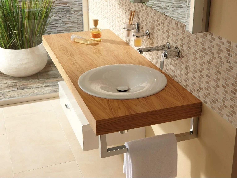 Einzel Waschtisch aus Holz BETTEROOM TRGERPLATTE by