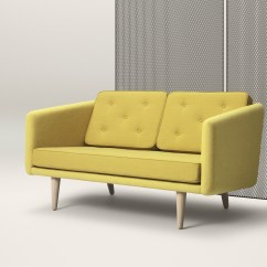 One And Half Seater Sofa How To Make A Bed Comfortable No 1 2 By Fredericia Furniture Design Børge