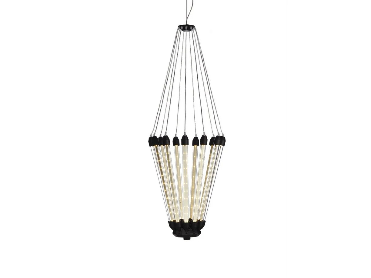 Led Direct Indirect Light Aluminium Pendant Lamp Kroon 11