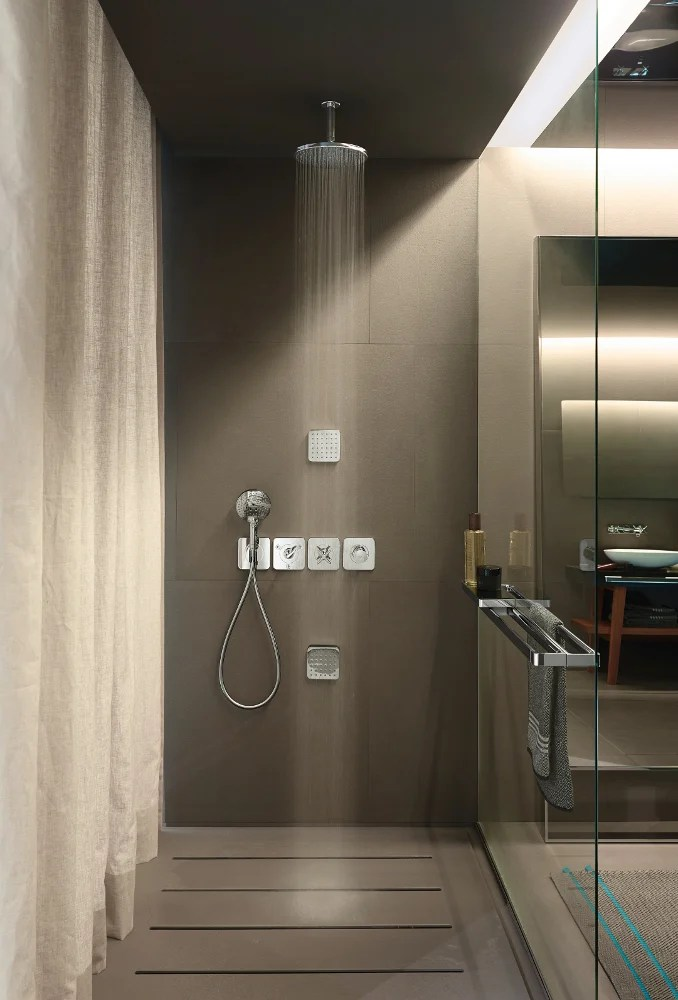 AXOR CITTERIO E  Shower tap with hand shower By hansgrohe