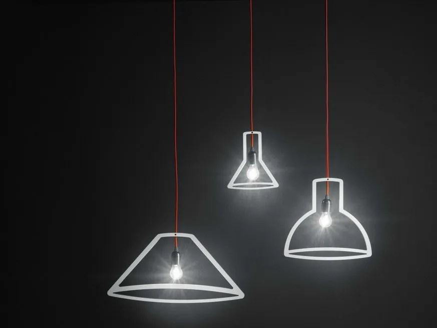 Direct light pendant lamp OUTLINER By Boffi design Martin