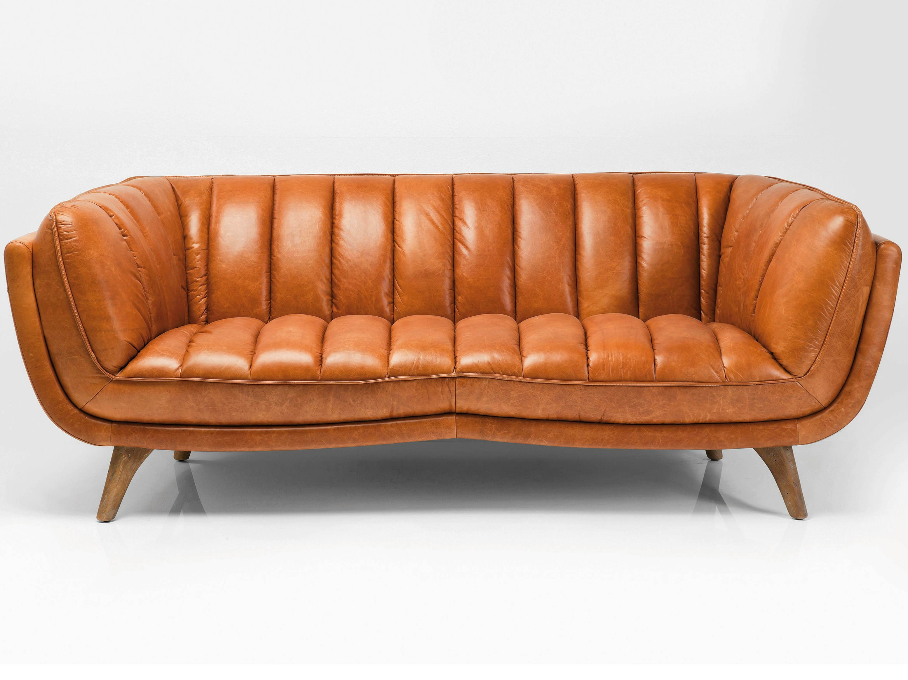 Foam Leather Sofa