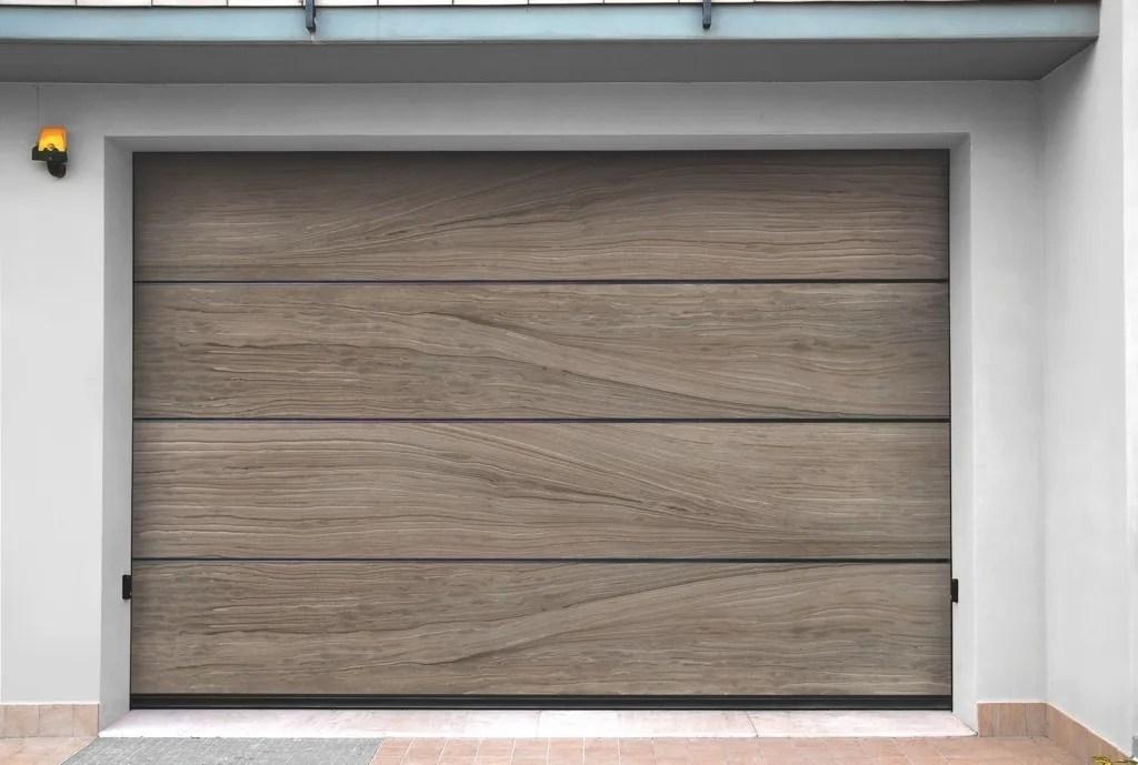 Sectional sandstone garage door SANDSTONE JEWELS by Breda