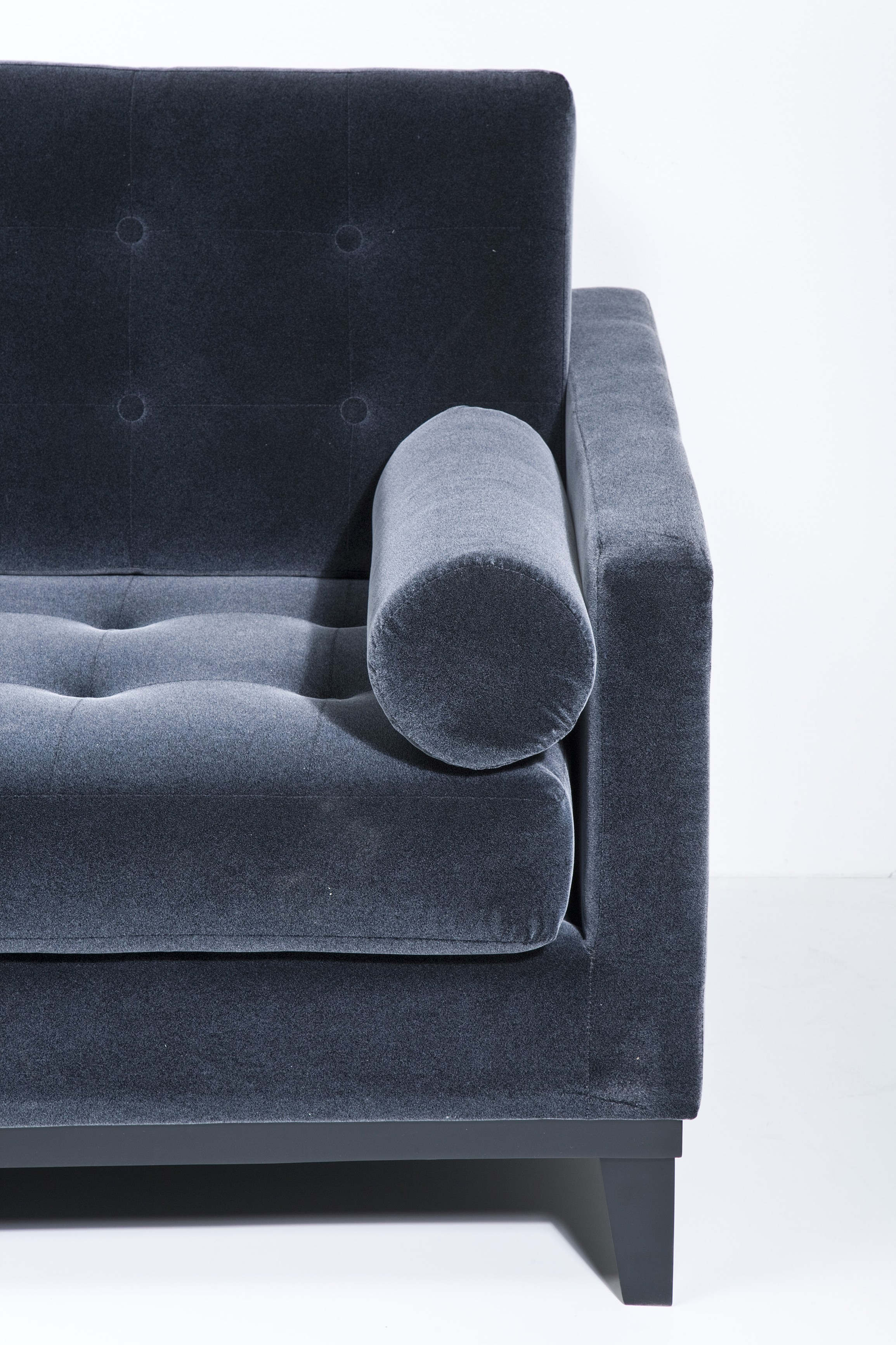 3 seater fabric sofa grey leather for india casino dark by kare design