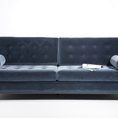 3 Seater Fabric Sofa Grey Daystar Seafoam Sleeper Casino Dark By Kare Design