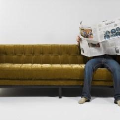 California Sofa Mfg Cream Leather 3 Seater Mirage By Kare Design