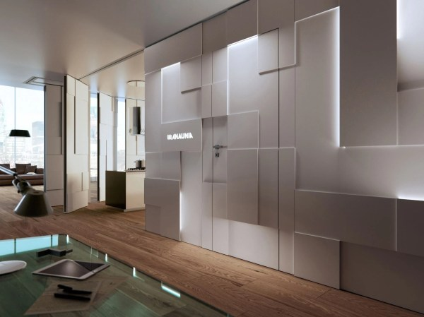 Movable Design Partitions Shine Walls Pmd