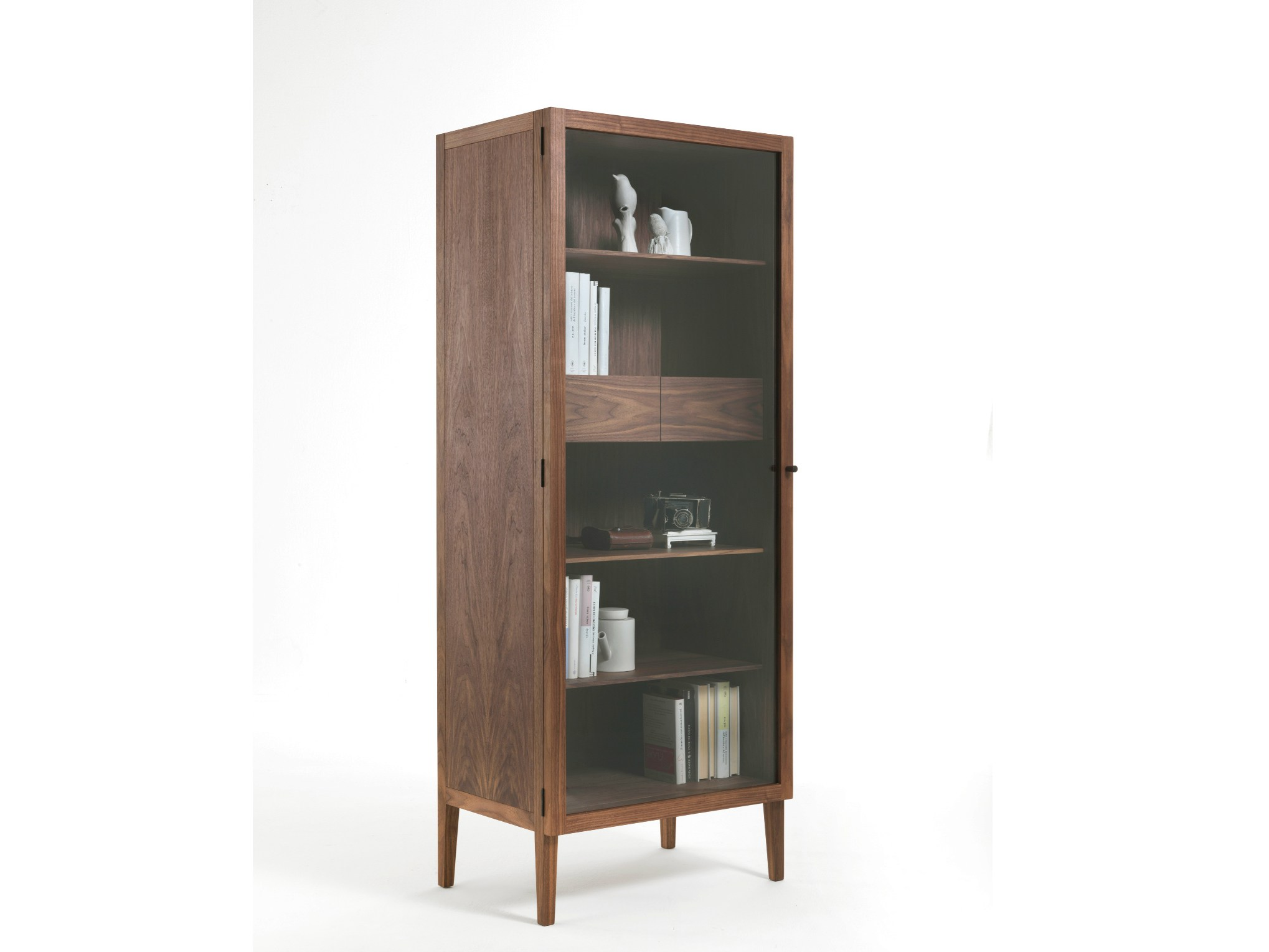 Solid wood display cabinet LIGHT SMALL by Riva 1920 design
