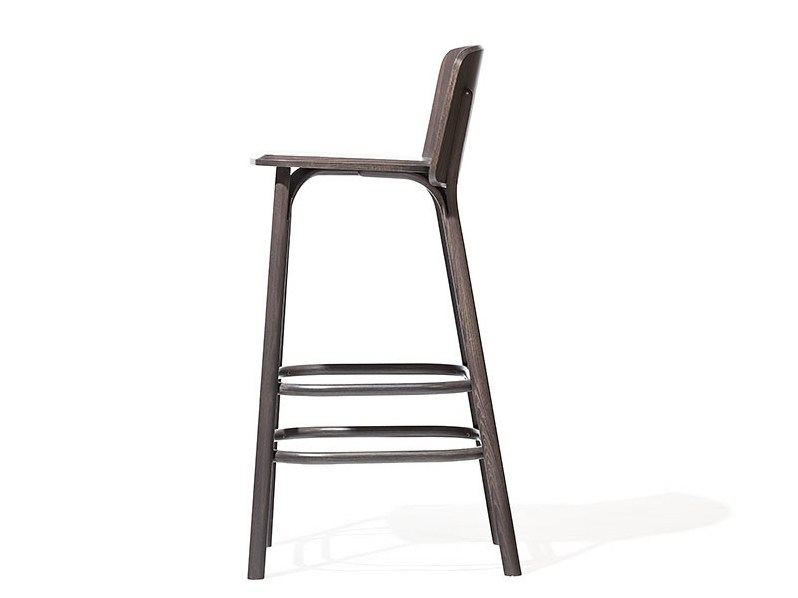SPLIT Counter stool by TON design Arik Levy