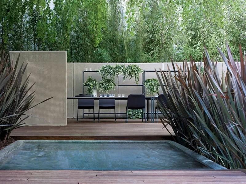 Schermo divisorio da giardino ABRI By paola lenti design