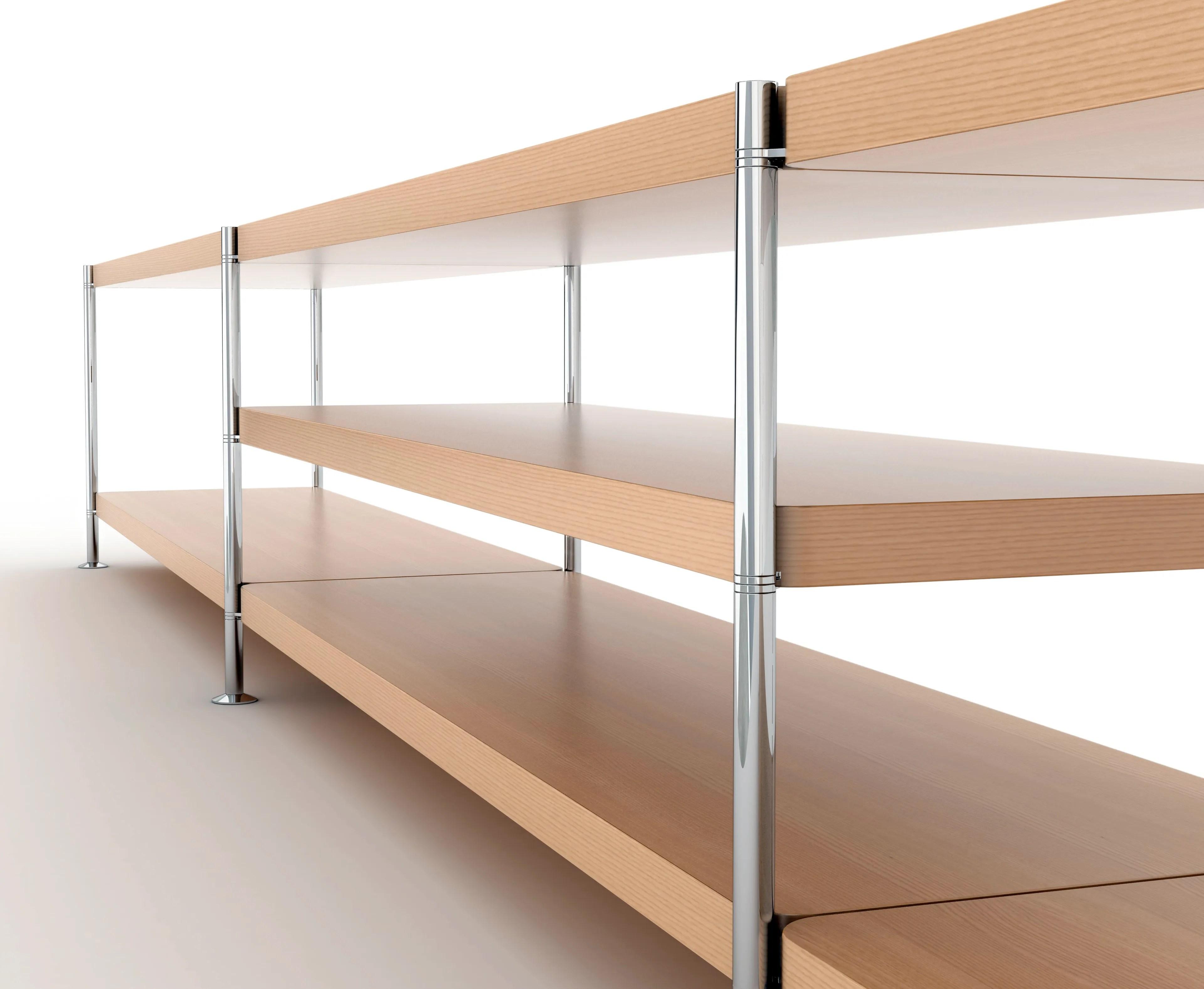 scaffali in legno grezzo prezzi e offerte online per scaffali in legno with scaffali componibili