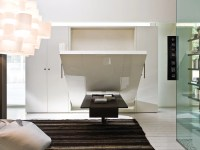 Pull-down double bed ULISSE DINING By CLEI