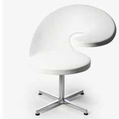 Revolving Office Armchair Double Seat Chair N@t Easy With 4-spoke Base By Rossin Design Martin Ballendat