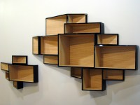 WALL-MOUNTED MDF BOOKCASE SHELLF BY KRISTALIA | DESIGN KA ...