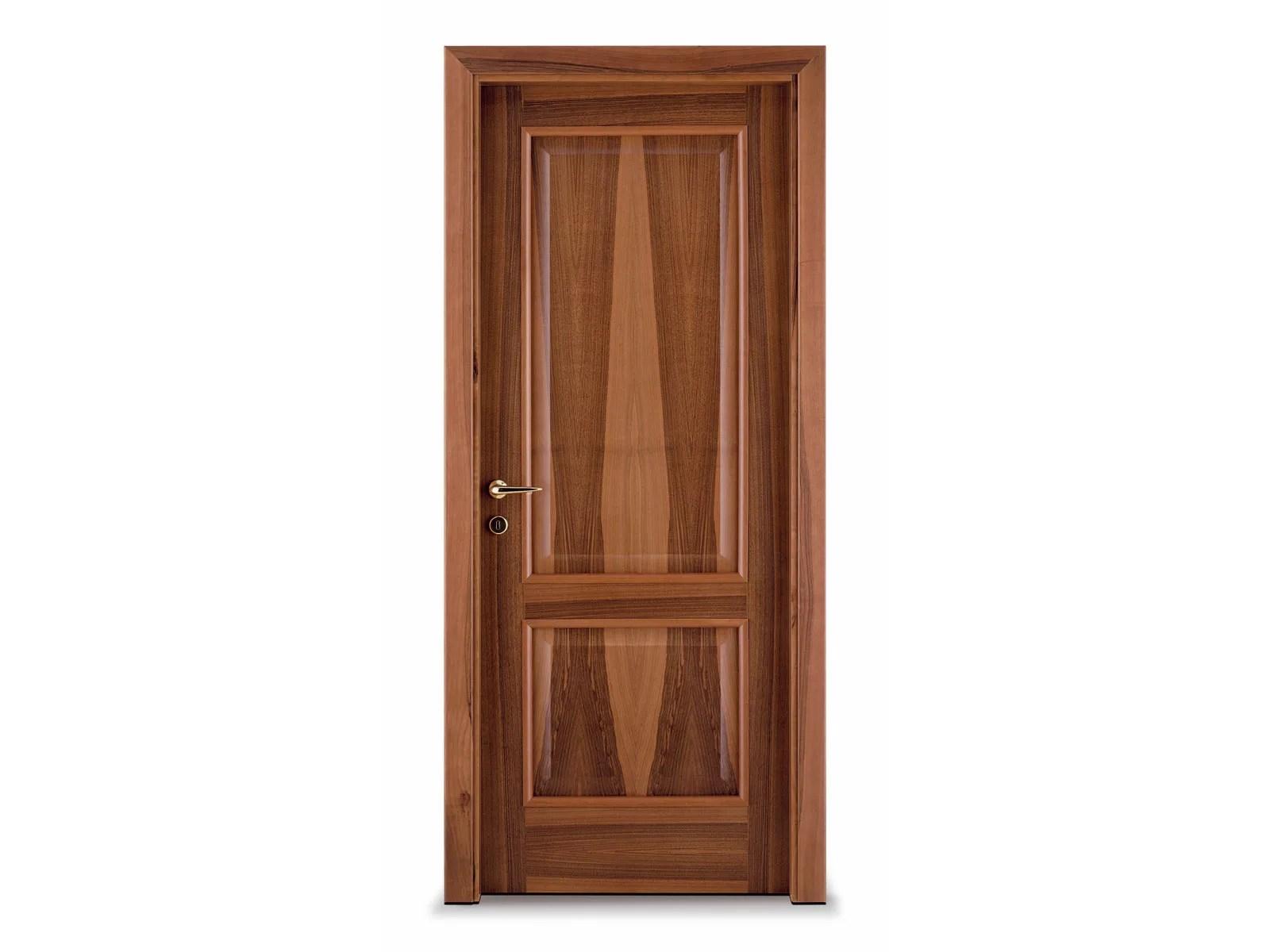 Hinged wooden door CLASSIC by Ghizzi & Benatti