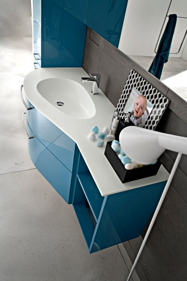 Play Lacquered Vanity Unit Cerasa