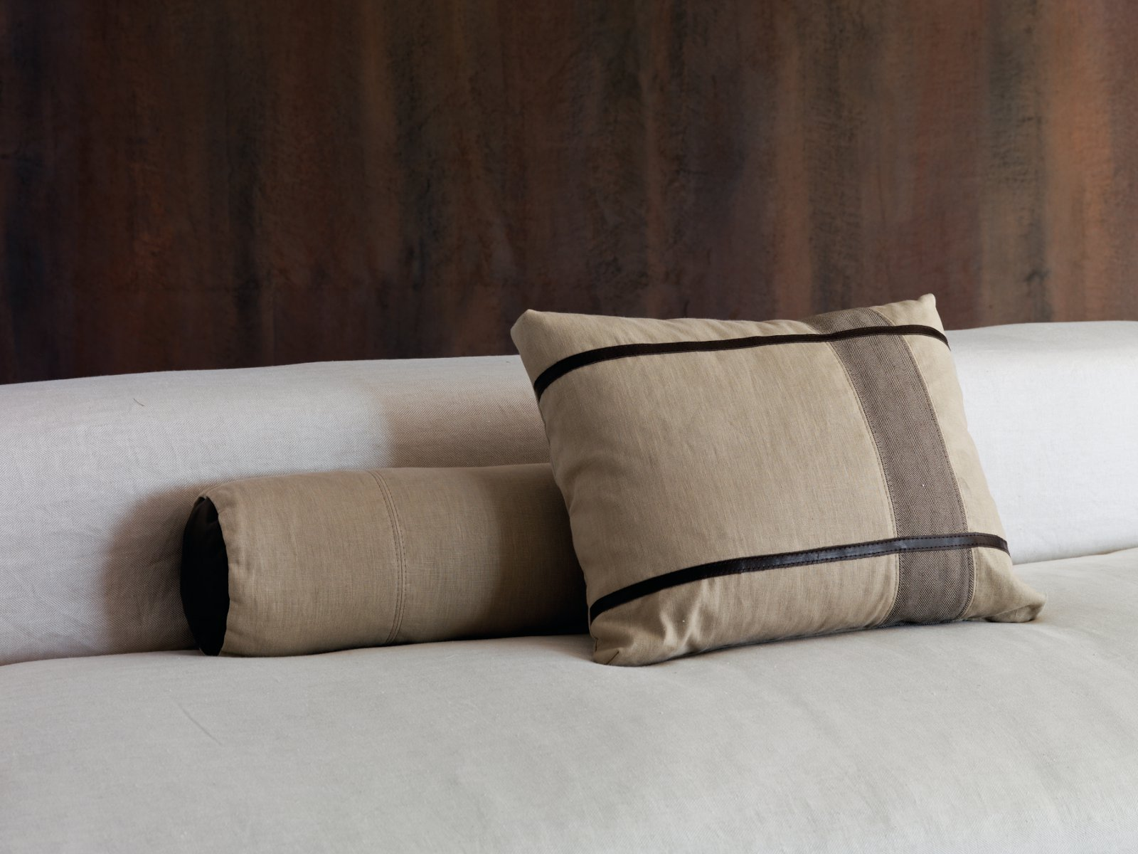 Cuscino sfoderabile per divani INTRECCI by Dsire