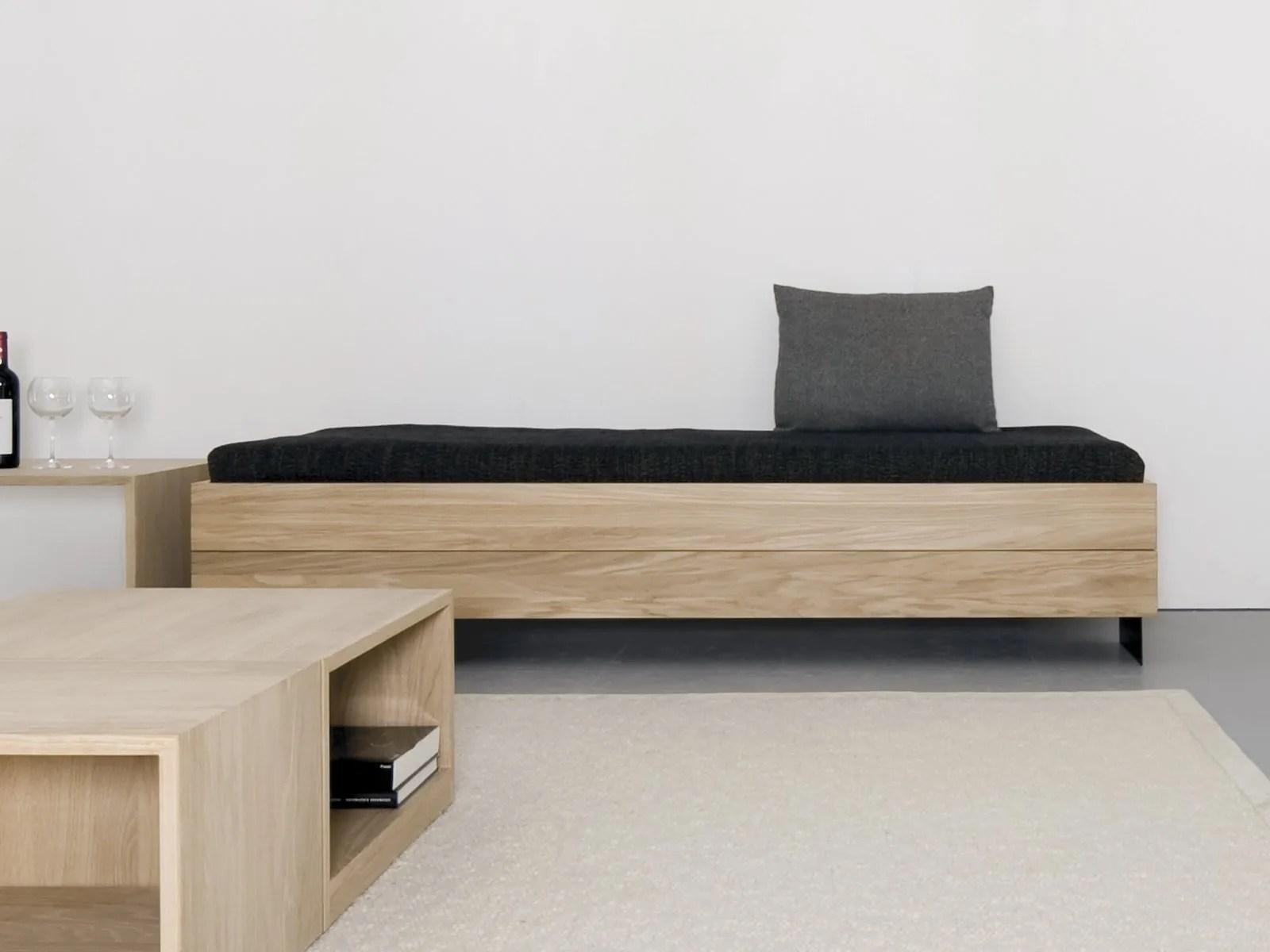 wooden sofa bed learher sofas solid wood iku by sanktjohanser design matthias