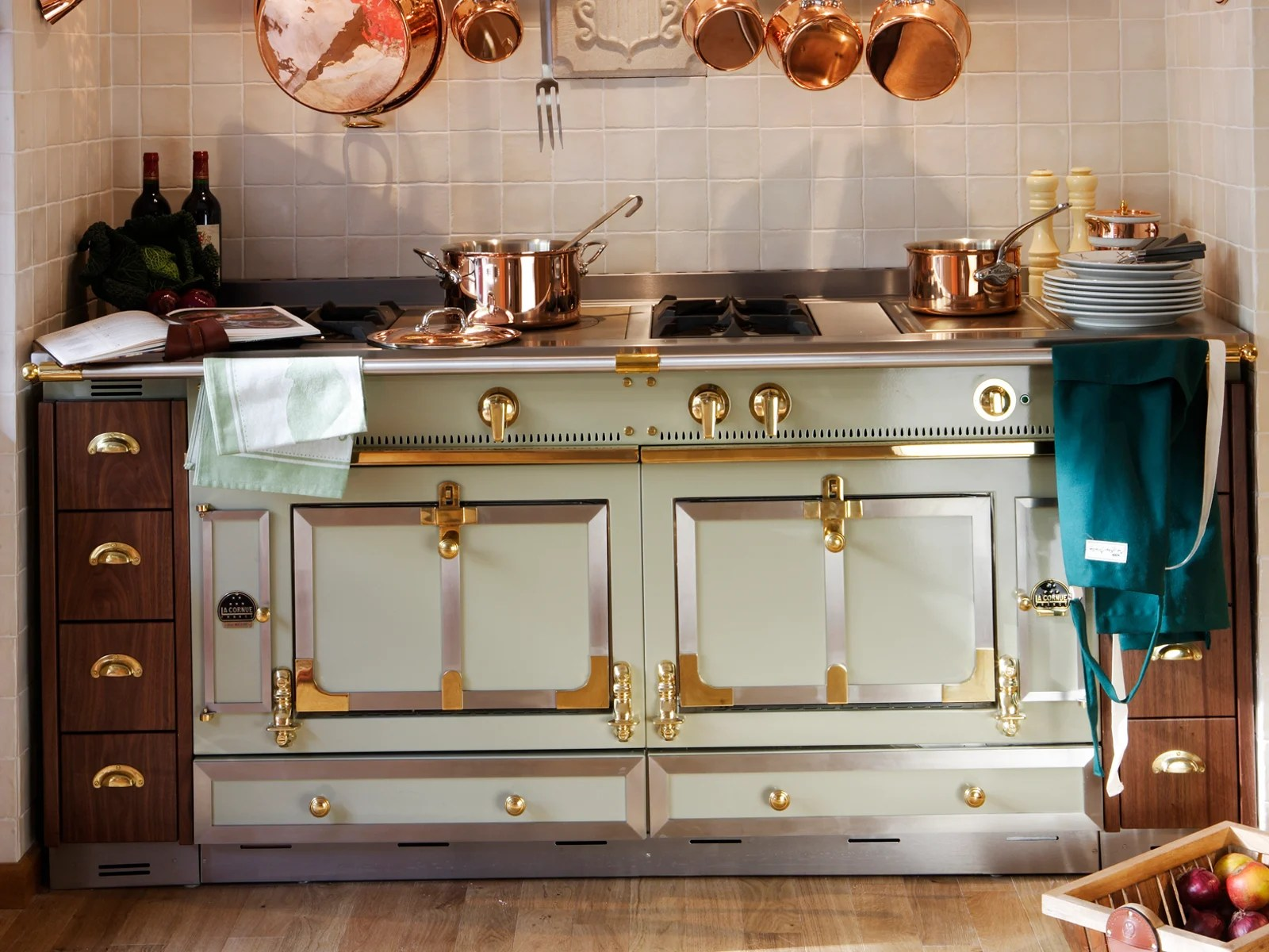 Stainless steel cooker CHTEAU 150 by La Cornue