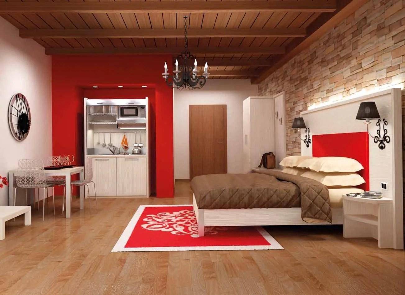 FASHION Camera hotel by MOBILSPAZIO Contract