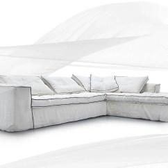 Bianca Sectional Sofa Costco Klippan Cover 3 Seater Carta By Erba Italia Design Giorgio