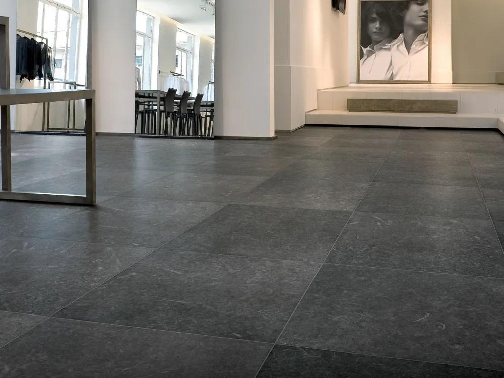 Pavimento in gres porcellanato effetto pietra NORDIK by Ceramiche Refin