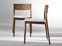 CONTEMPORARY STYLE SOLID WOOD CHAIR MISS 151 BY TONON ...