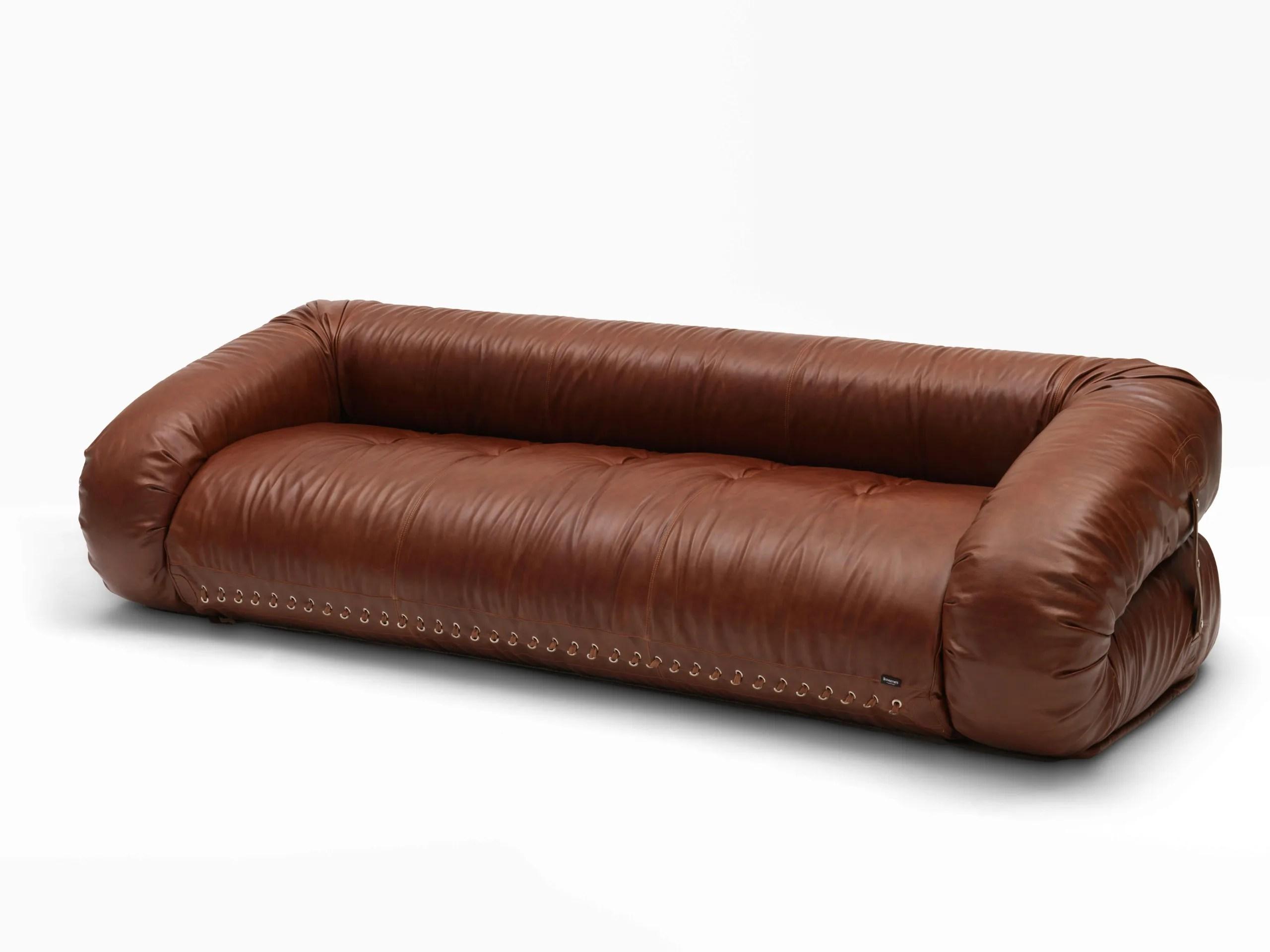 anfibio leather sofa bed for small e divano letto trasformabile by giovannetti