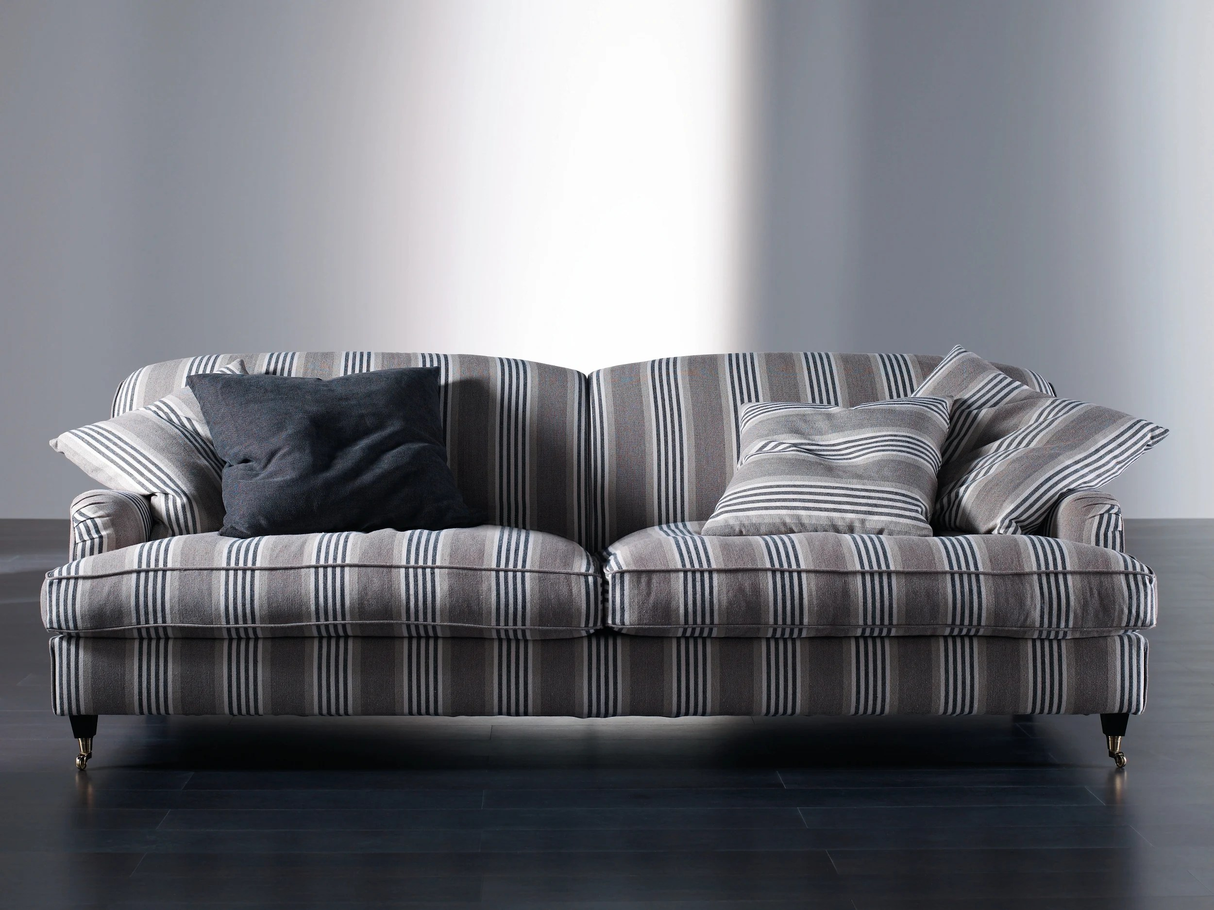 removable cover sofa sofas com chaise long baratos with casters harrison by meridiani