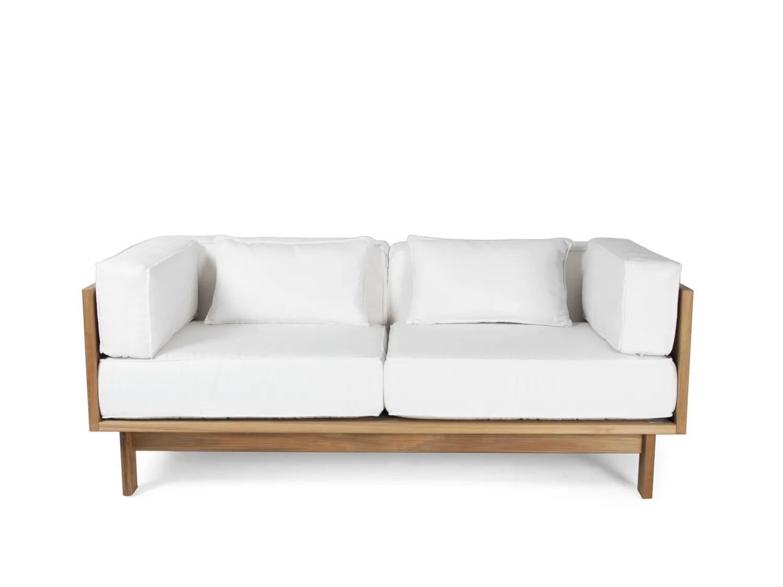 teak outdoor sofa on credit uk falsterbo 2 seater garden by skargaarden design carl